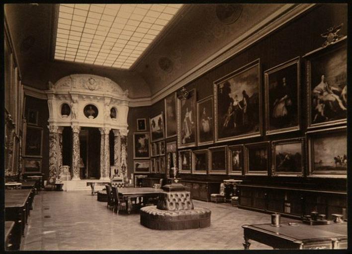 Le château de Chantilly : La Galerie de peintures_0