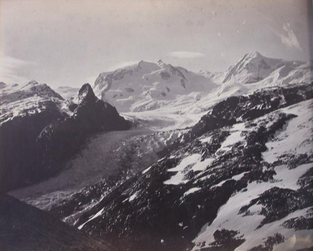 Vue Suisse. Le Mont Rose_0