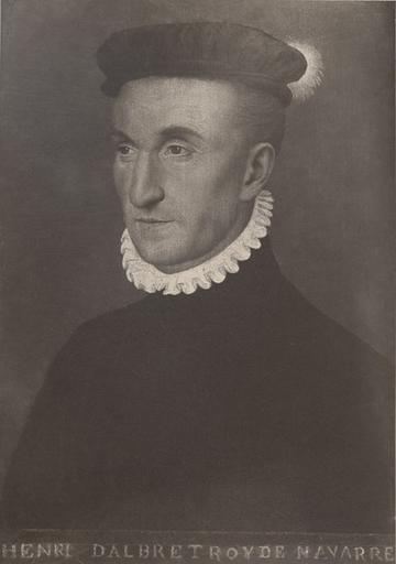 F. Clouet. Henri II d'Albret