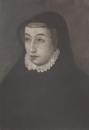 F. Clouet. Catherine de Médicis