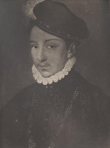 Clouet. Charles IX_0