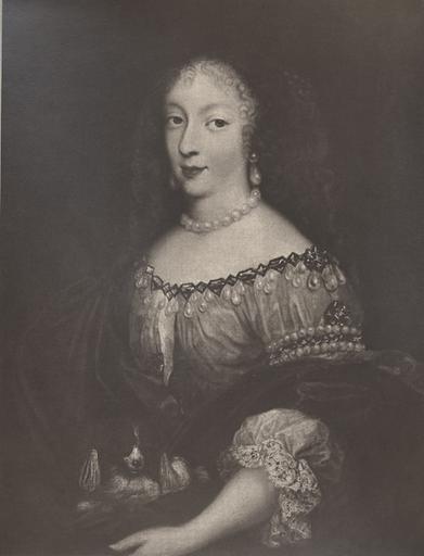 P. Mignard. Henriette-Anne d'Angleterre