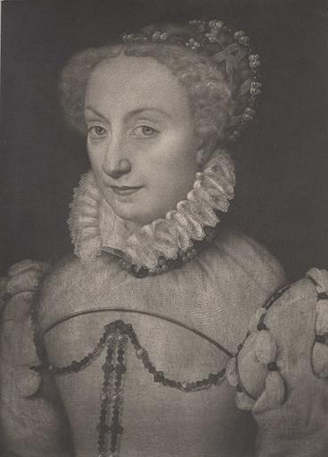 F. Clouet. Jeanne d'Albret