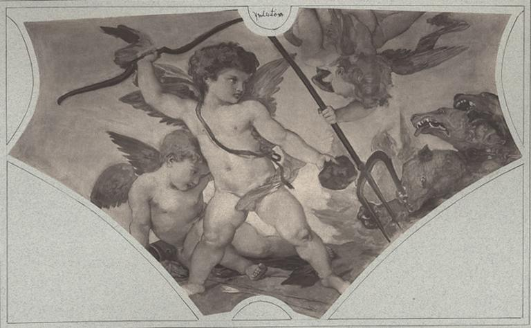 Pluton. Baudry. Château de Chantilly_0