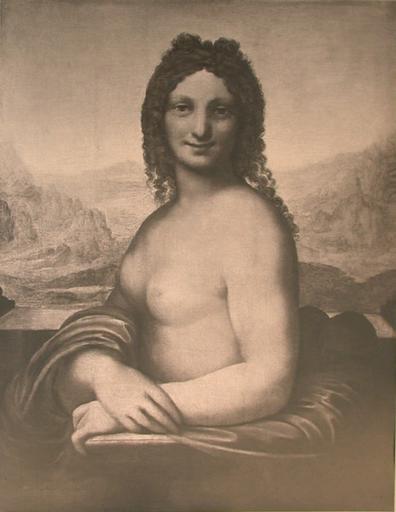 Musée de l'Ermitage à Saint-Pétersbourg. L. Da Vinci. Portrait d'une Dame