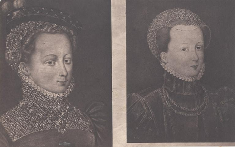 Séries of photographs from Portraits of Mary Queen of Scots, executed by Caldesi and Montecchi, from the collection exhibited by Archaelogical Institute. June. 1857., Paul and Dominic Colnaghi, London. 1858. 12 photographies