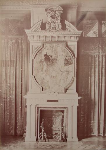Chantilly : cheminée de la Galerie des Cerfs. 1885. 146