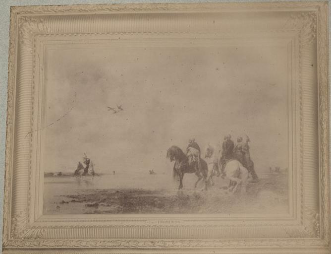 Eugène Fromentin. La chasse au faucon. 946_0
