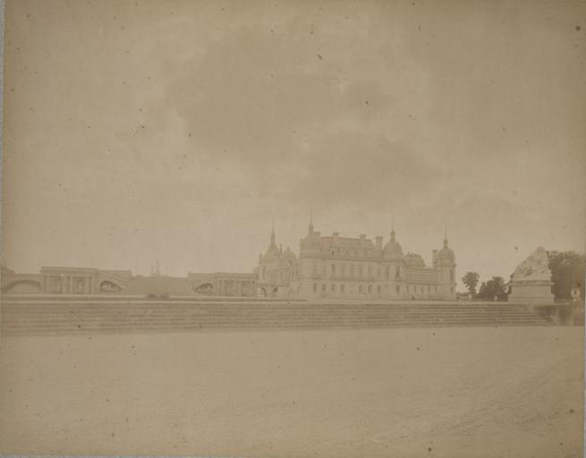 Chantilly, le château et le Grand Degré. 16_0