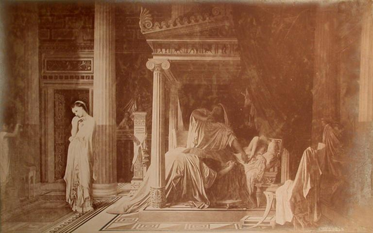Reproduction d'Antiochus et Stratonice par Ingres_0