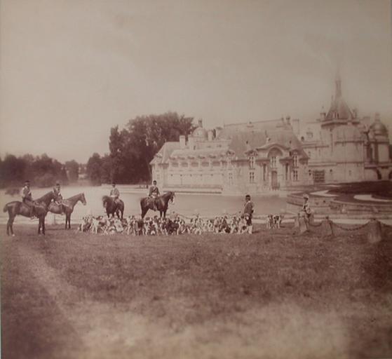 Chantilly : le château et l'équipage du cerf_0