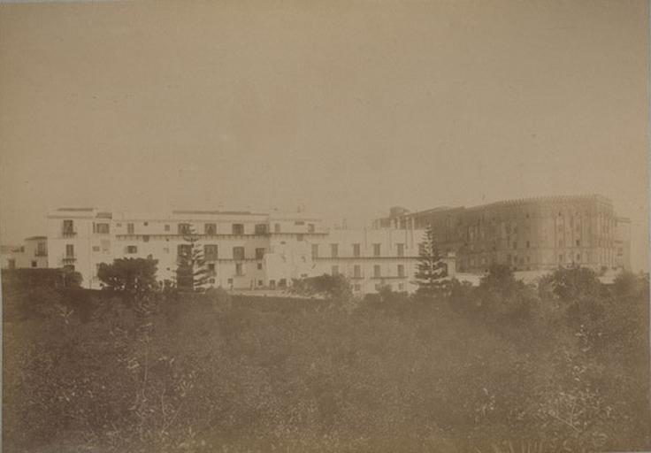 Villa d'Orléans et Palais Royal. Palerme. 4 avril 1885. 127_0