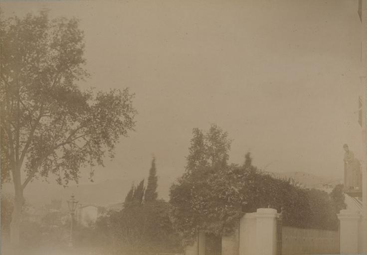Terrasse de la villa d'Orléans. Palerme. 6 avril 1885. 233_0