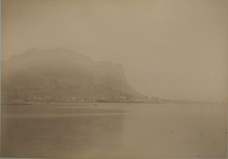 Mont Pellegrino du port de Palerme. 7 avril 1885. 218_0