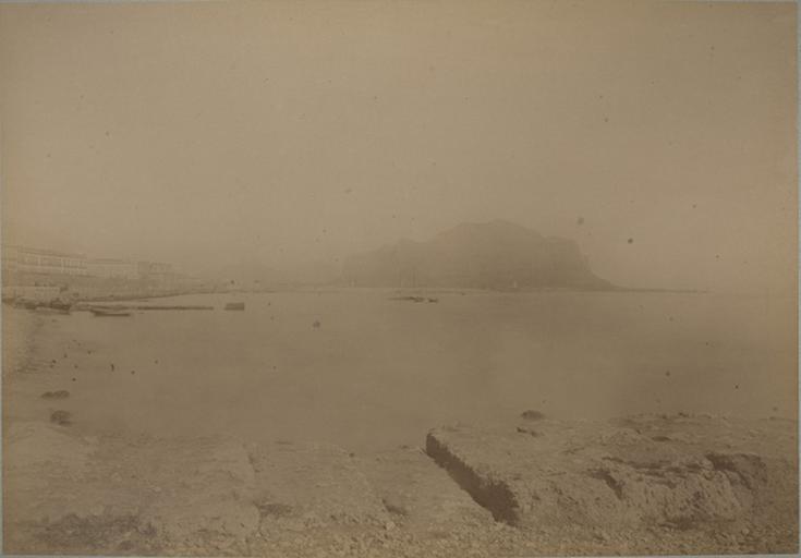 Palerme et le Mont Pellegrino. 7 avril 1885. 217_0