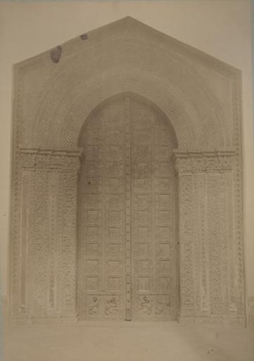 Porte de la cathédrale de Montréal (Sicile) 13 avril 1885_0