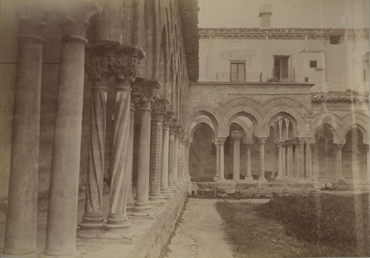Cloître de Montréal. Sicile. 13 avril 1885. 224_0