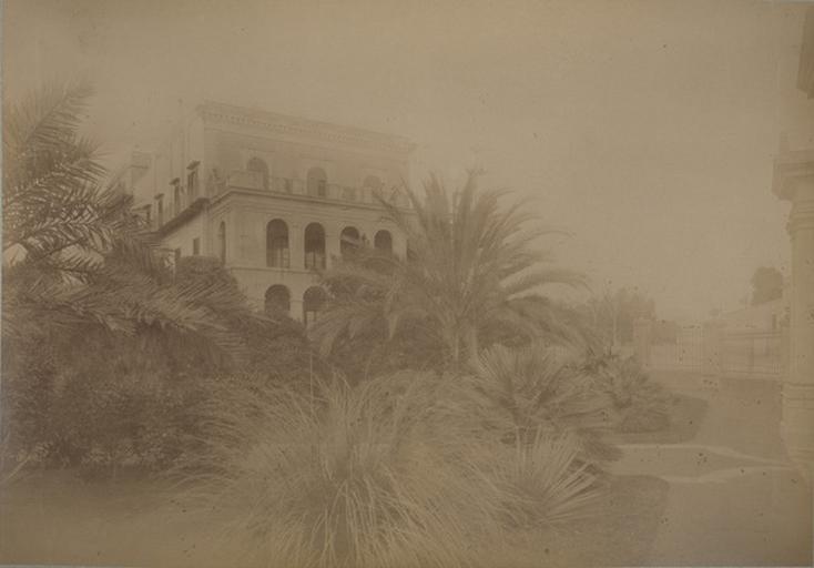 Villa d'Orléans. Palerme. 16 avril 1885. 230_0