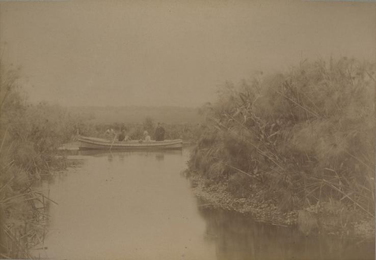 Source de la Scianée, près Syracuse. 19 avril 1885_0