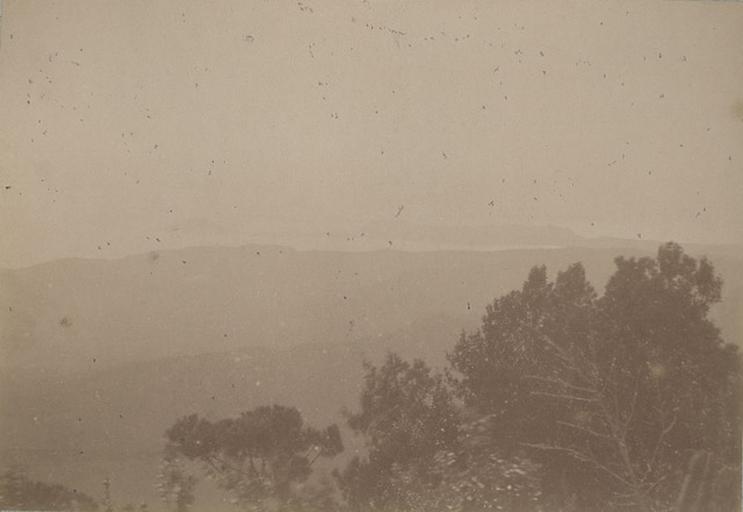 Vue prise des Camaldules, Naples.29 mars 1885. 280_0