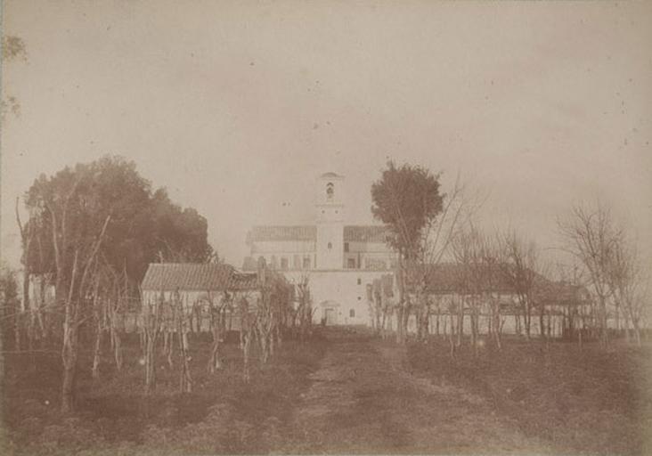 Les Camaldules près Naples. 29 mars 1885_0