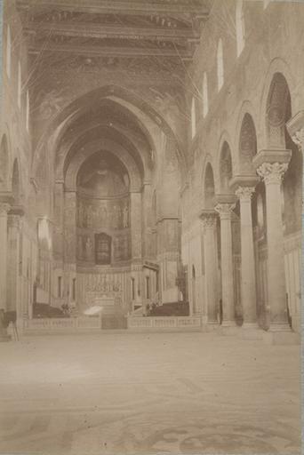 Eglise de Montréal (Sicile) 13 avril 1885. 240_0