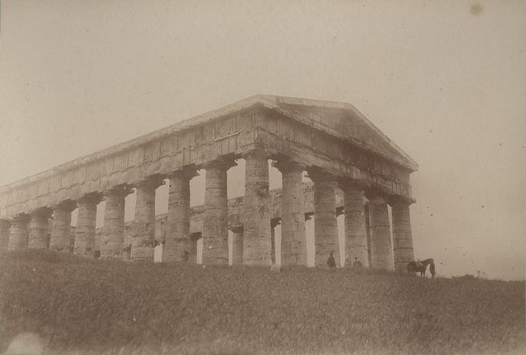 Ségeste (Sicile) 15 avril 1885. 263_0