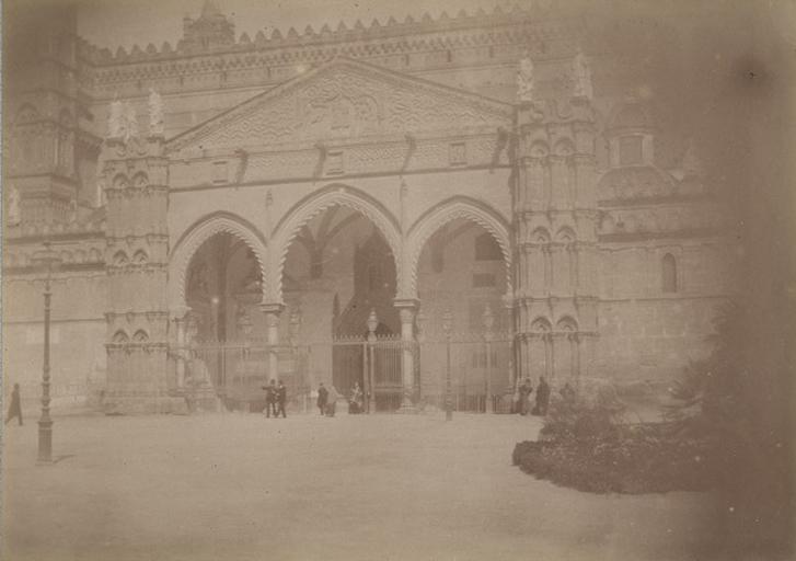 Cathédrale de Palerme 17 avril 1885. 249_0