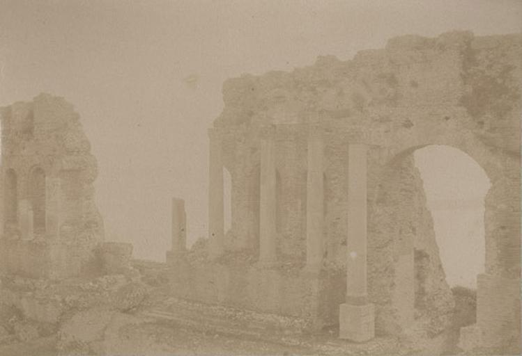 Taormina, Sicile. 20 avril 1885