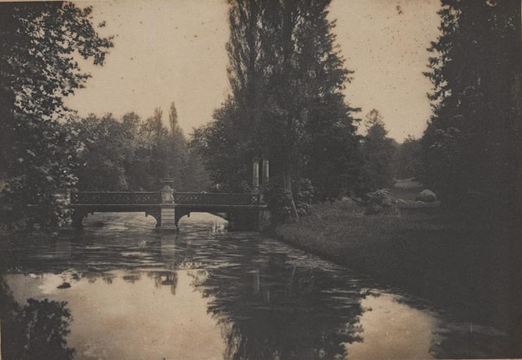 [Chantilly : le Pont des Grands Hommes]_0