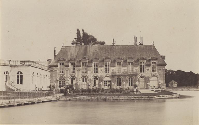 Le château : façade occidentale_0
