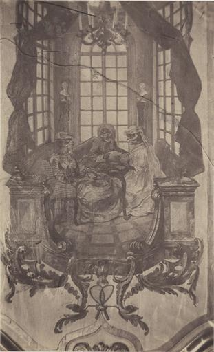 Boudoir de Watteau : le jeu