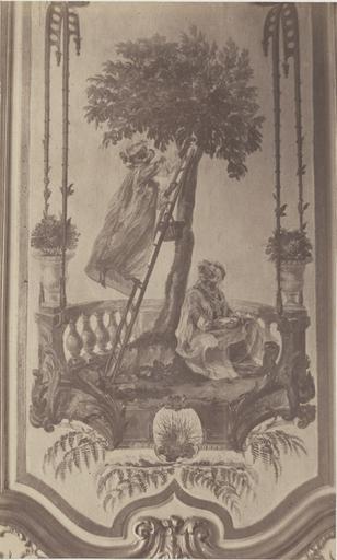 Boudoir de Watteau : la cueillette des cerises_0