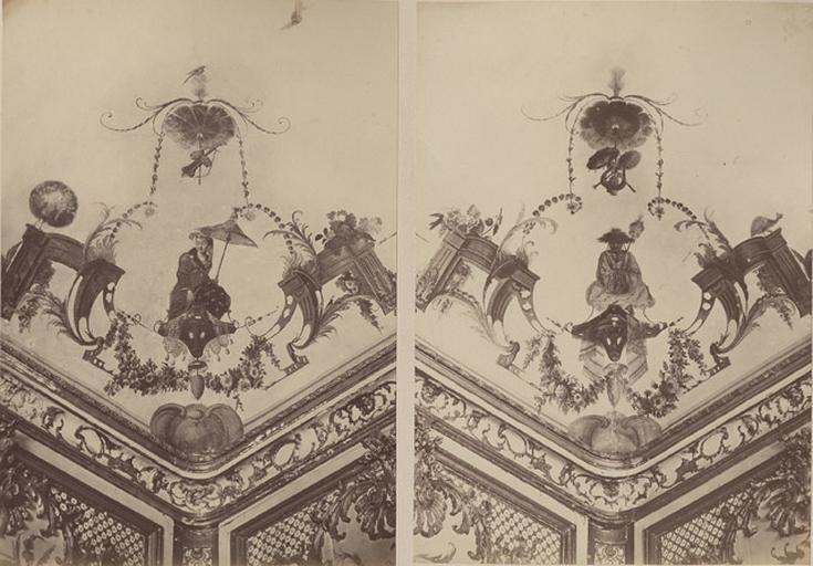 Angles du plafond