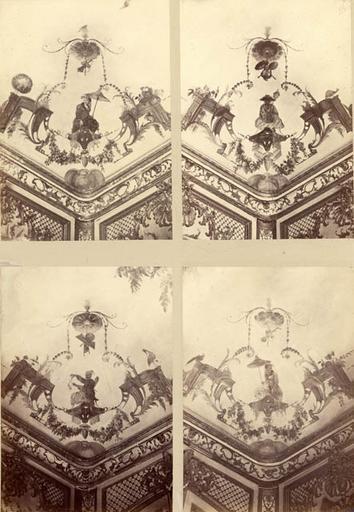Fragments du salon Chinois. Voussures du plafond_0