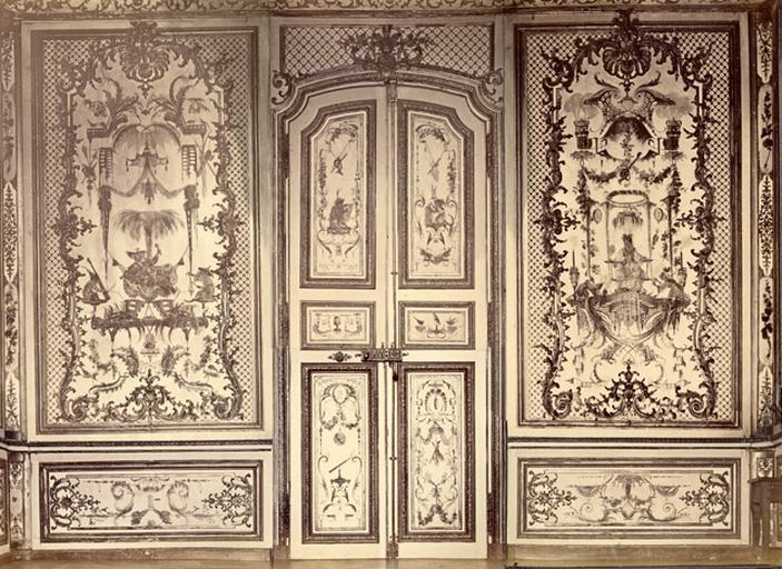 Fragments du salon Chinois. Voussures du plafond