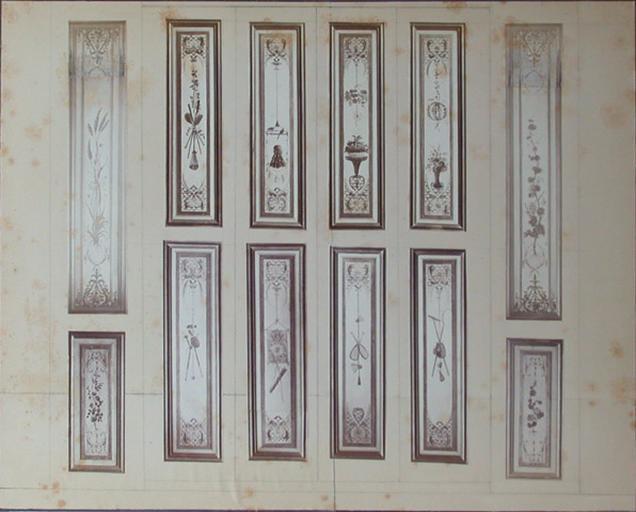 Fragments du salon Chinois. Montage photographique_0