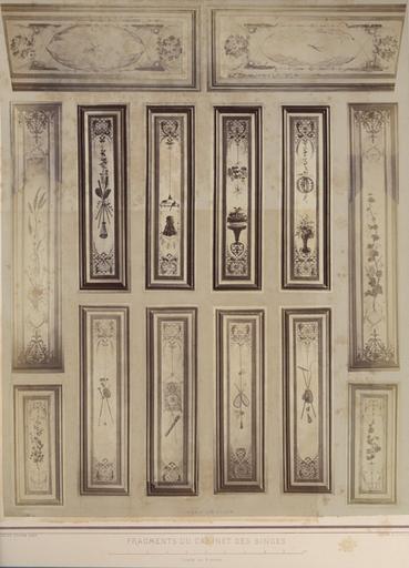 Fragments du Cabinet des Singes. Panneaux des volets