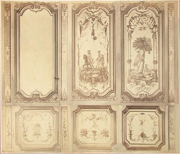 Fragments du cabinet des Singes. Montage