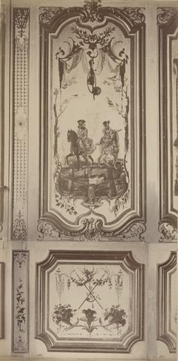 Fragments du cabinet des Singes. (la chasse)