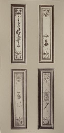 Fragments du cabinet des Singes ; panneaux des volets_0