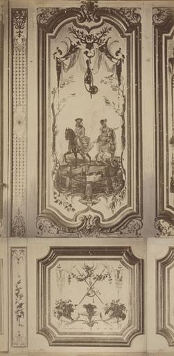 Fragments du cabinet des Singes (la chasse)