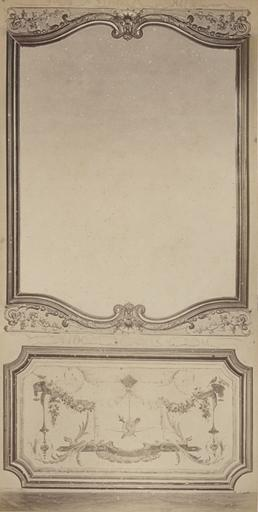 Fragments du cabinet des Singes (la glace)