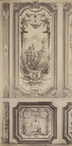 Fragments du cabinet des Singes (le traîneau)_0