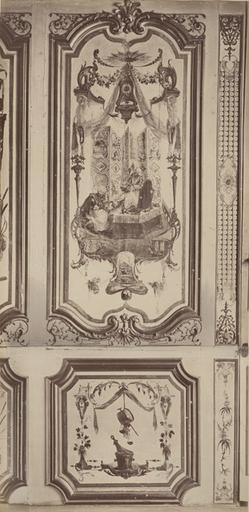 Fragments du cabinet des Singes (la toilette)_0
