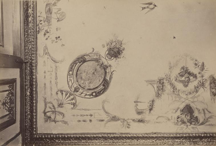 Fragments du cabinet des Singes (plafond)_0