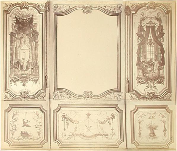 Fragments du cabinet des Singes (le bain, la glace, le jeu)_0