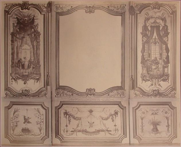 Fragments du cabinet des Singes (la porte, la chasse, la cueillette)_0