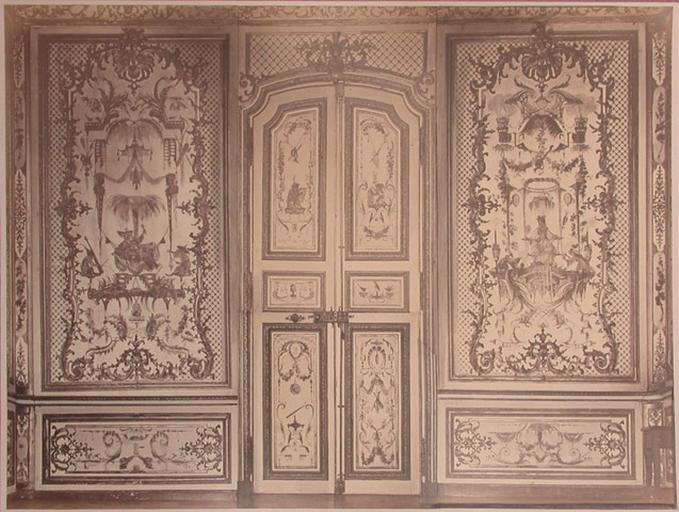 Fragments du salon Chinois (côté porte)_0