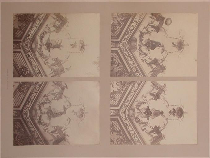 Fragments du salon Chinois (angles du plafond)_0